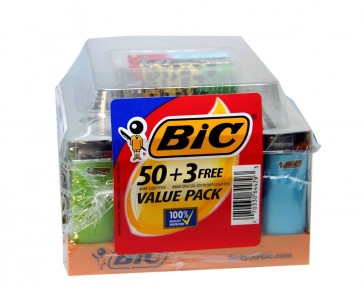 BiC Lighter 50 Plus 3 Value Pack