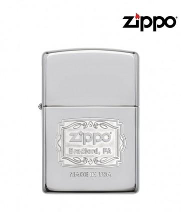 Zippo Bradford, PA Logo Lighter