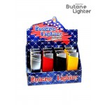 America Butane Lighter Rubber Finish box