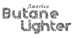 America Butane Lighter Rubber Finish 12 CT