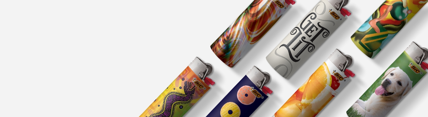 BiC Flowers Special Edition Lighters 50 CT