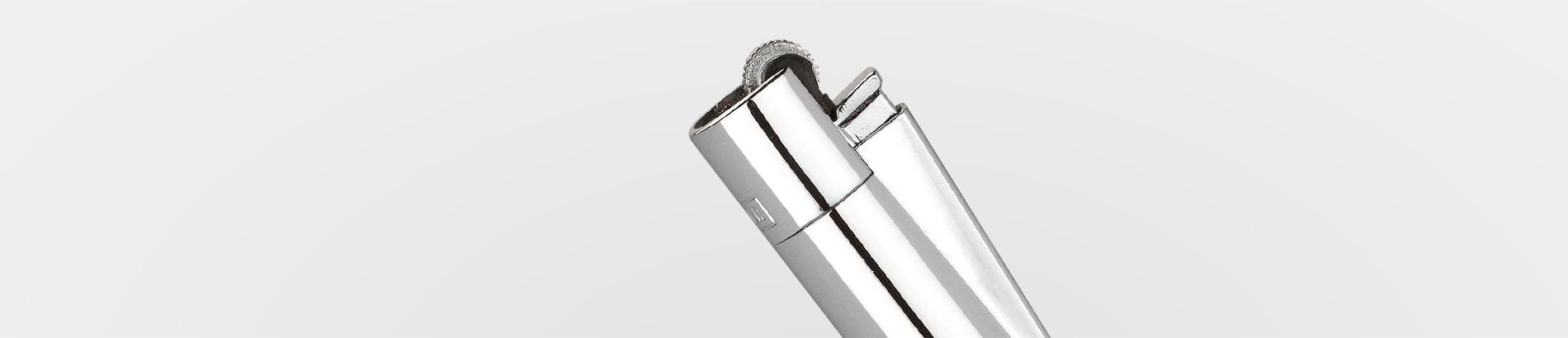 Metal CLIPPER Lighter Refillable 30 CT